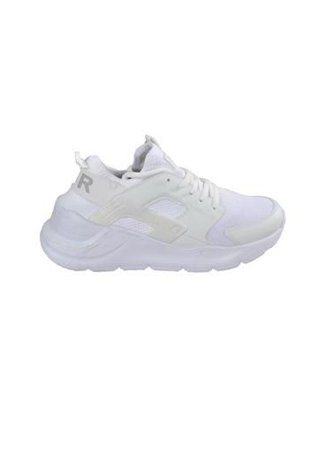 Bestof 048 Beyaz-Beyaz Unisex Spor Ayakkabı Beyaz